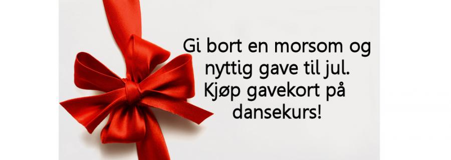 gavekort julegave 2016